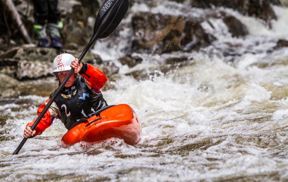 Adriene Levknecht 2014 Whitewater Grand Prix Giant Slalom