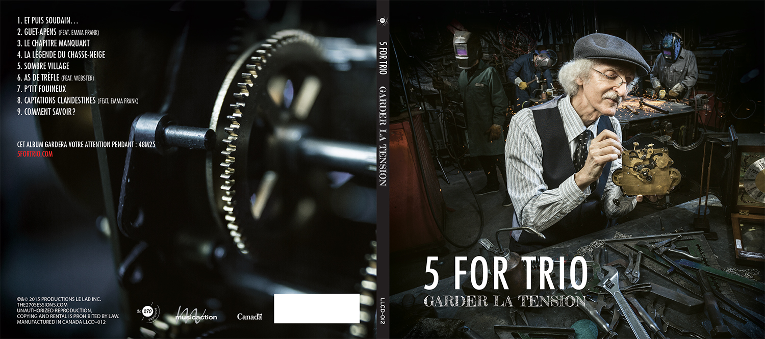 NOUVEL ALBUM DE 5 FOR TRIO