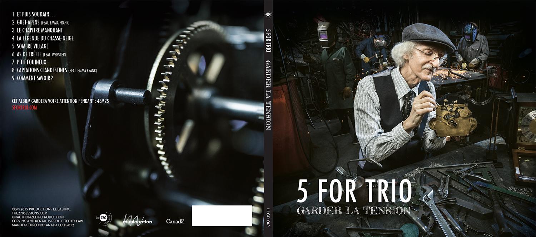 NOUVEL ALBUM DE 5 FOR TRIO