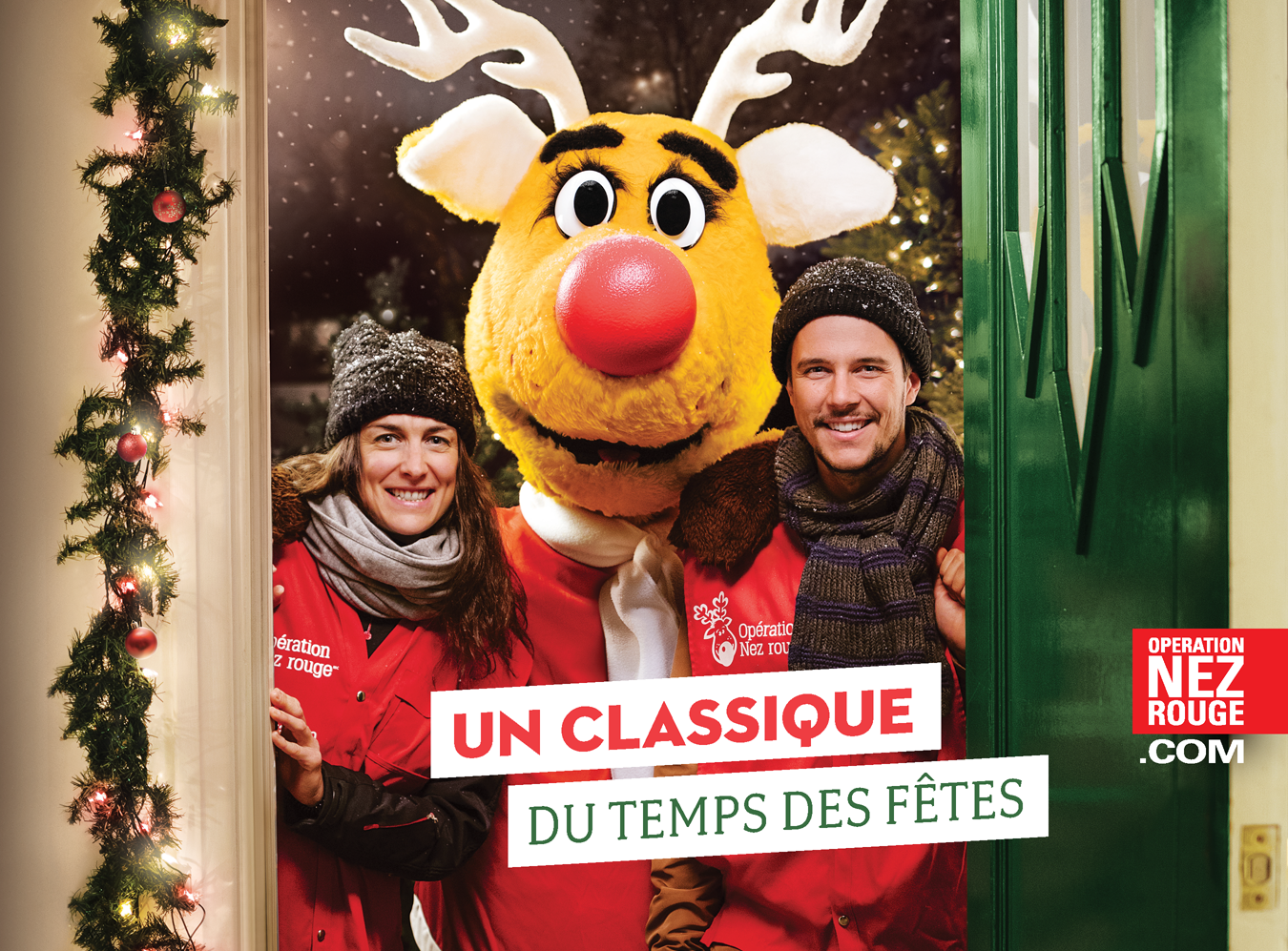 Opération Nez rouge, Affiche campagne Québec 2017