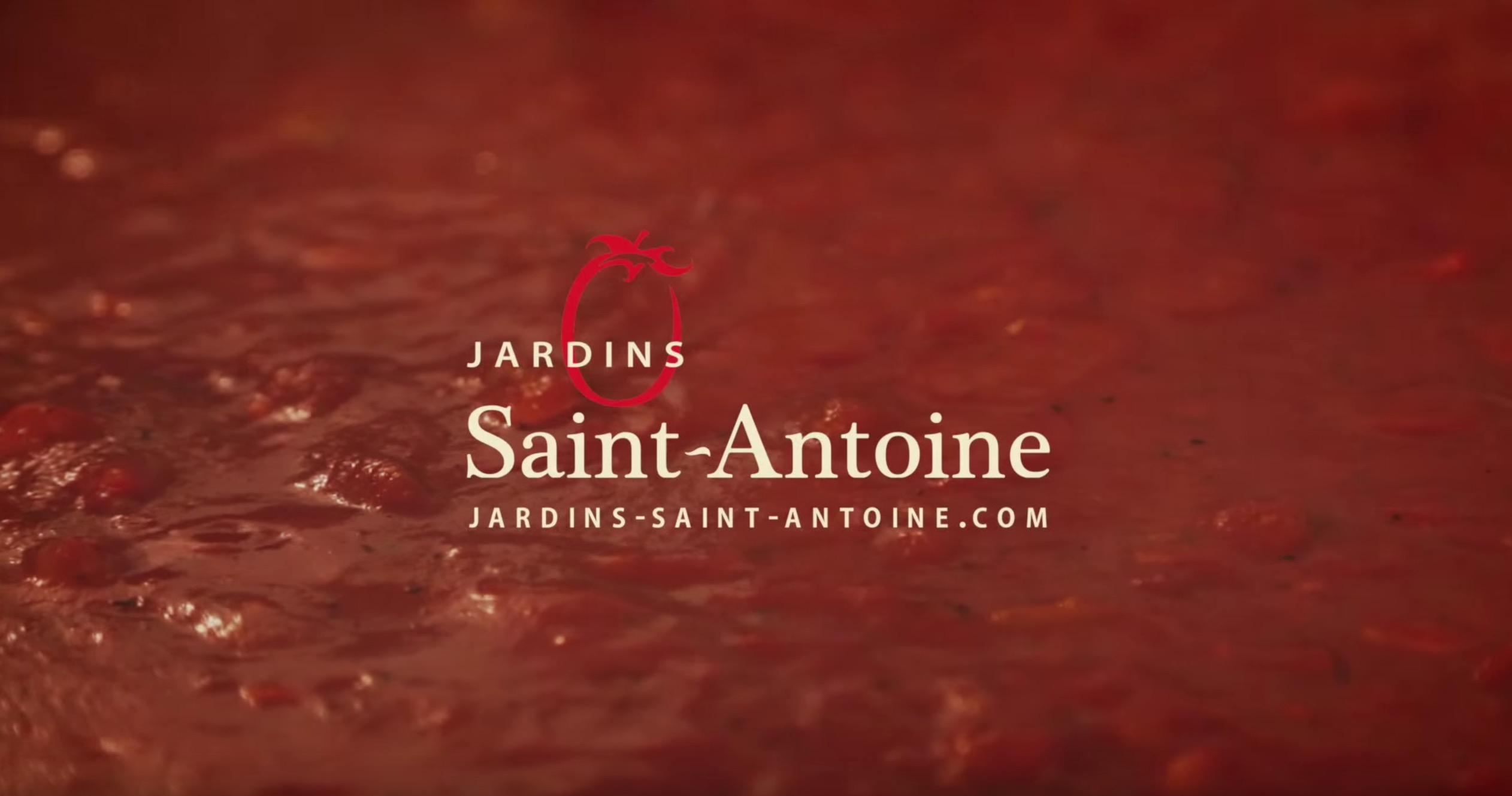 Vidéo promo pour Les Jardins St-Antoine