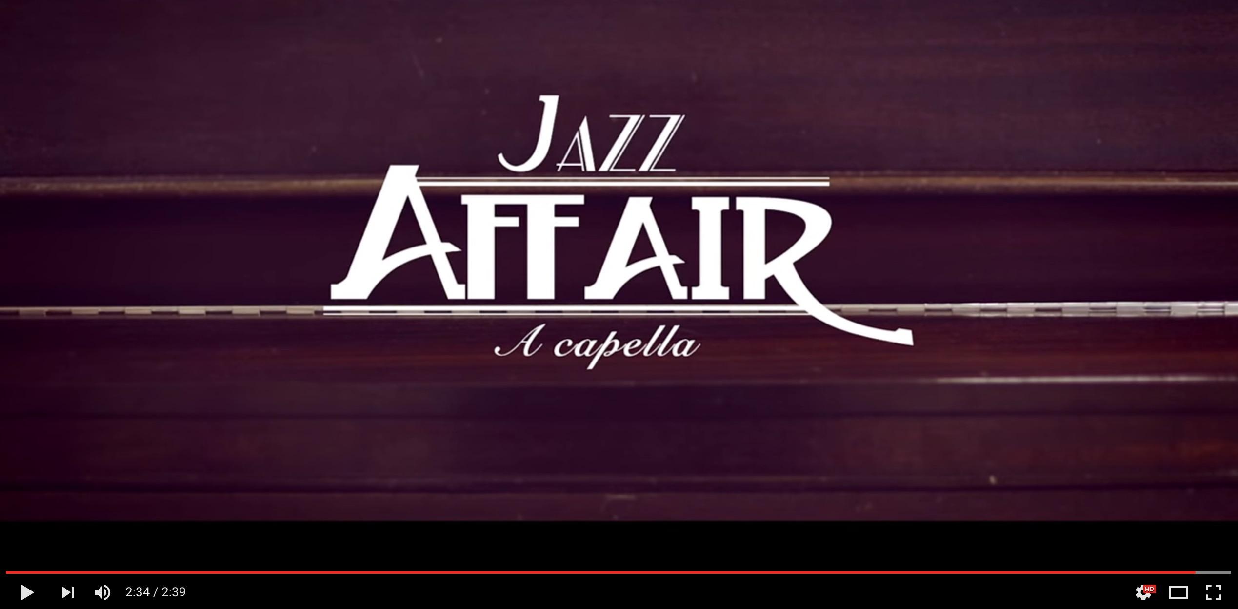 Vidéo promo pour Jazz Affair