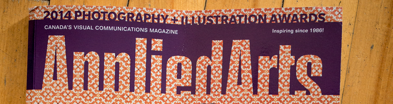 Applied Arts 2014 Photography + Illustration Awards
