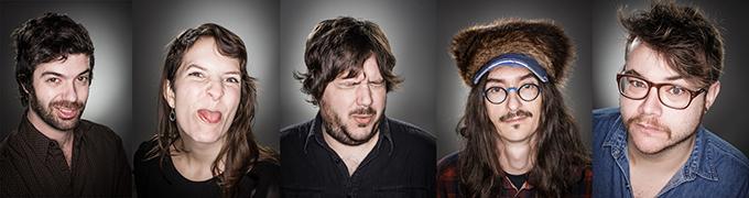 Portraits de l'équipe des Disques Nomade