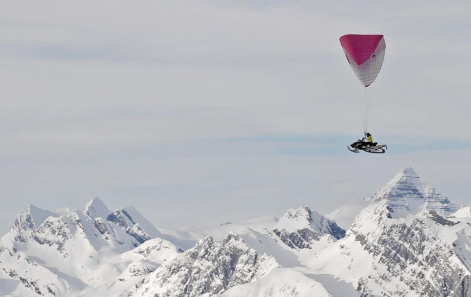 para-sledding
